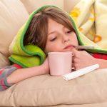 При температуре у ребенка 3 лет назначают ответ на тест