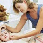 Ребенок перенес менингоэнцефалит