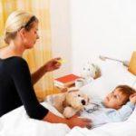 Почему при высокой температуре у ребенка холодные ноги и нос
